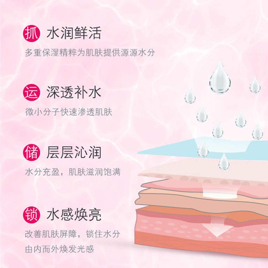 萃雅润泽晚霜,清新盈润,水感透亮,柔润质地,