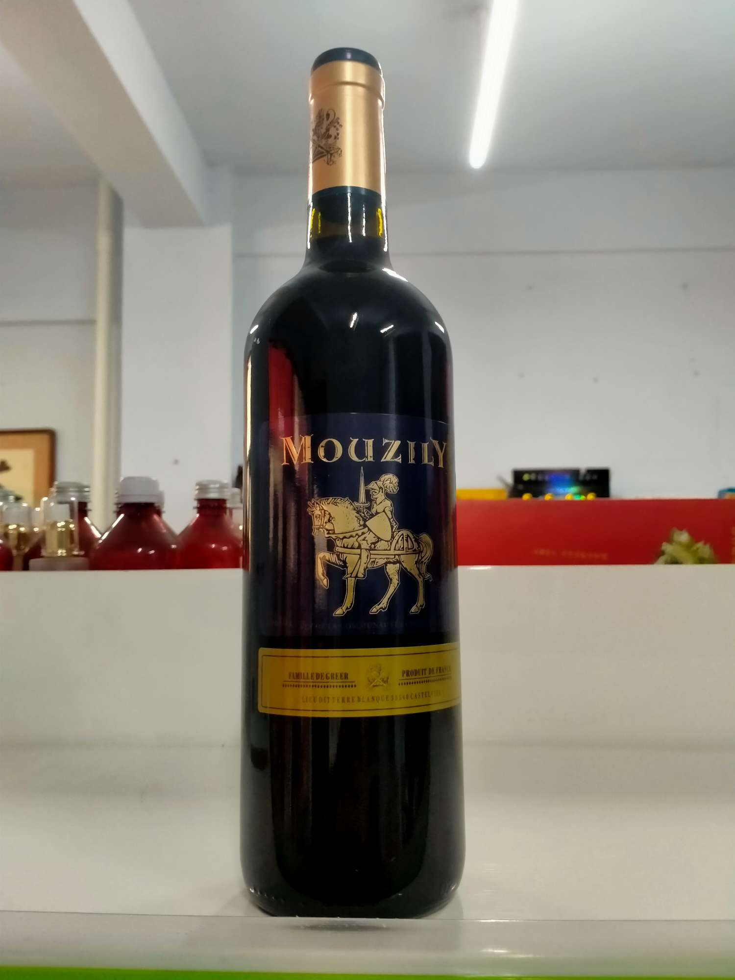 法国进口穆泽酒庄格尔家族干红葡萄酒