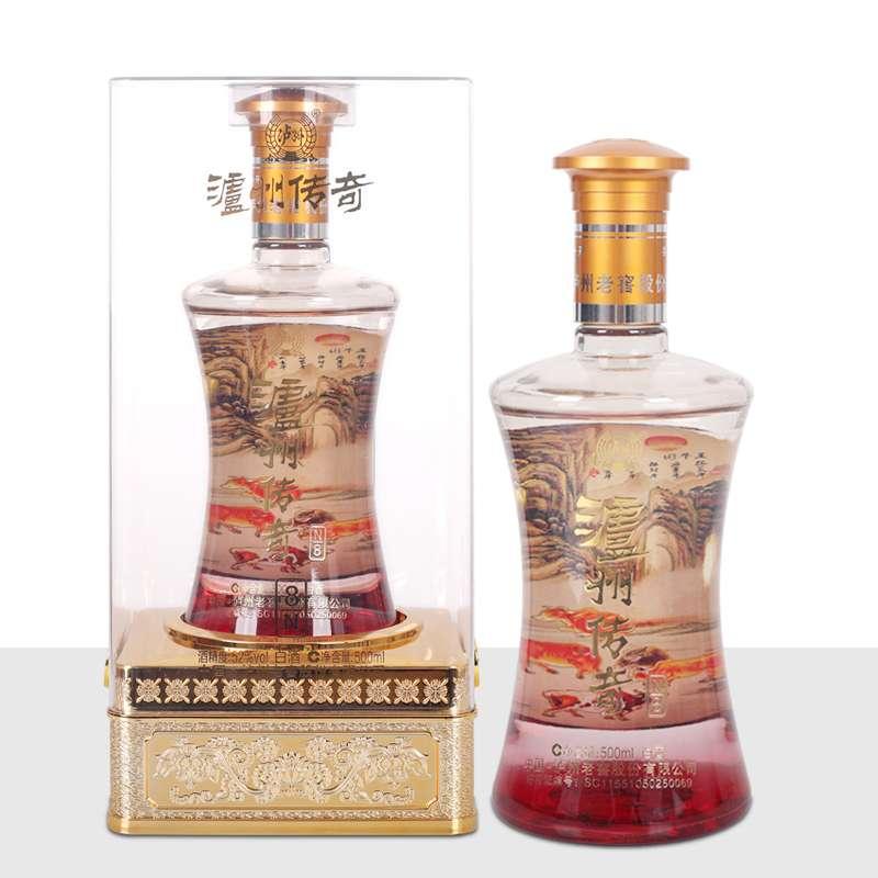 泸州传奇白酒52度N8 500ml/瓶 单瓶装