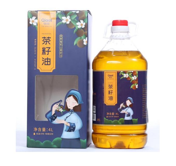 靖州茶籽油4L